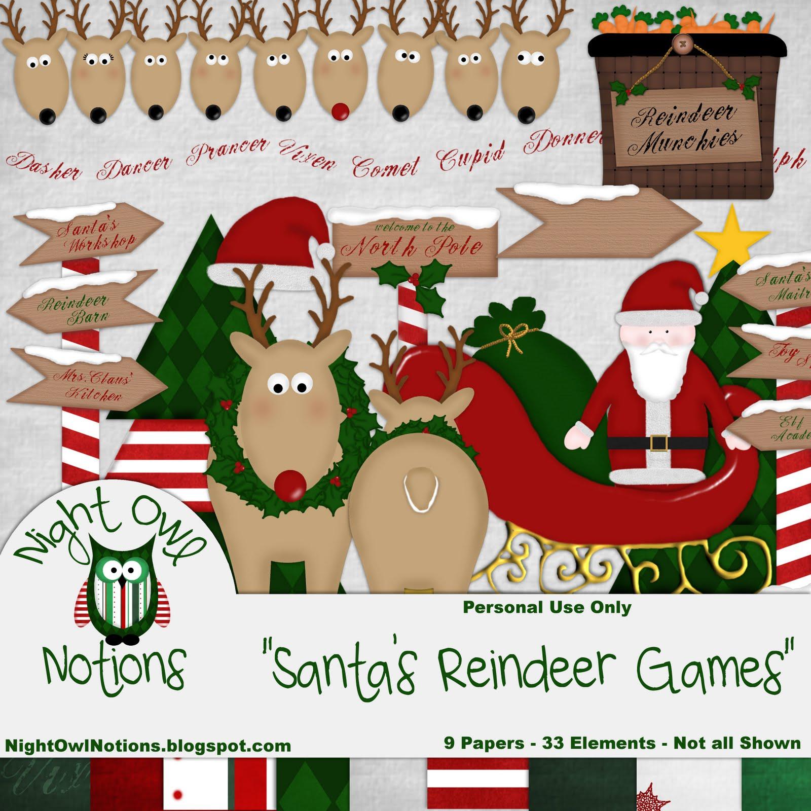 Santa's reindeer's names Images & Pictures - Findpik