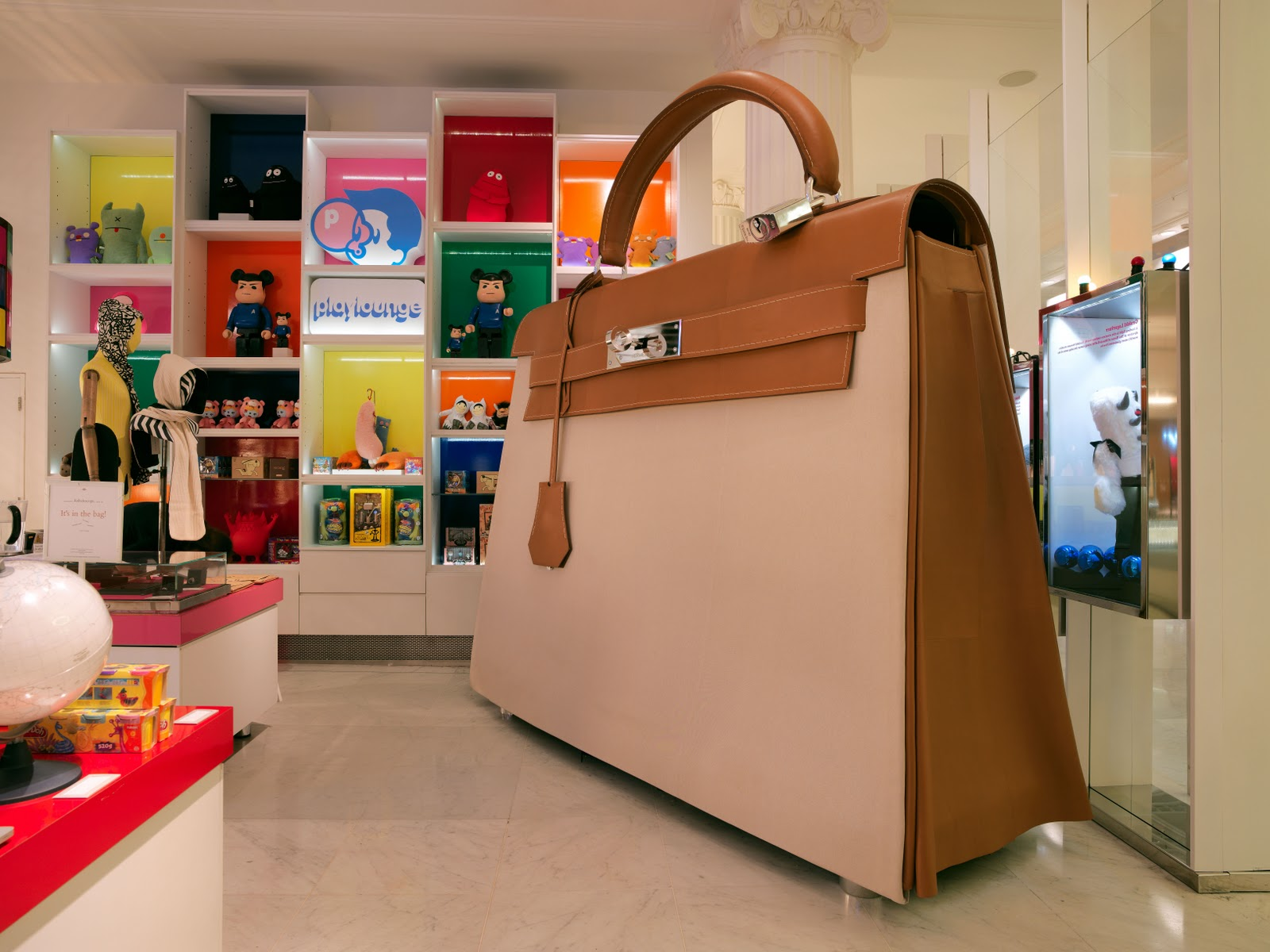 Walk Into A Hermes Bag At Selfridges And Experience The Luxury