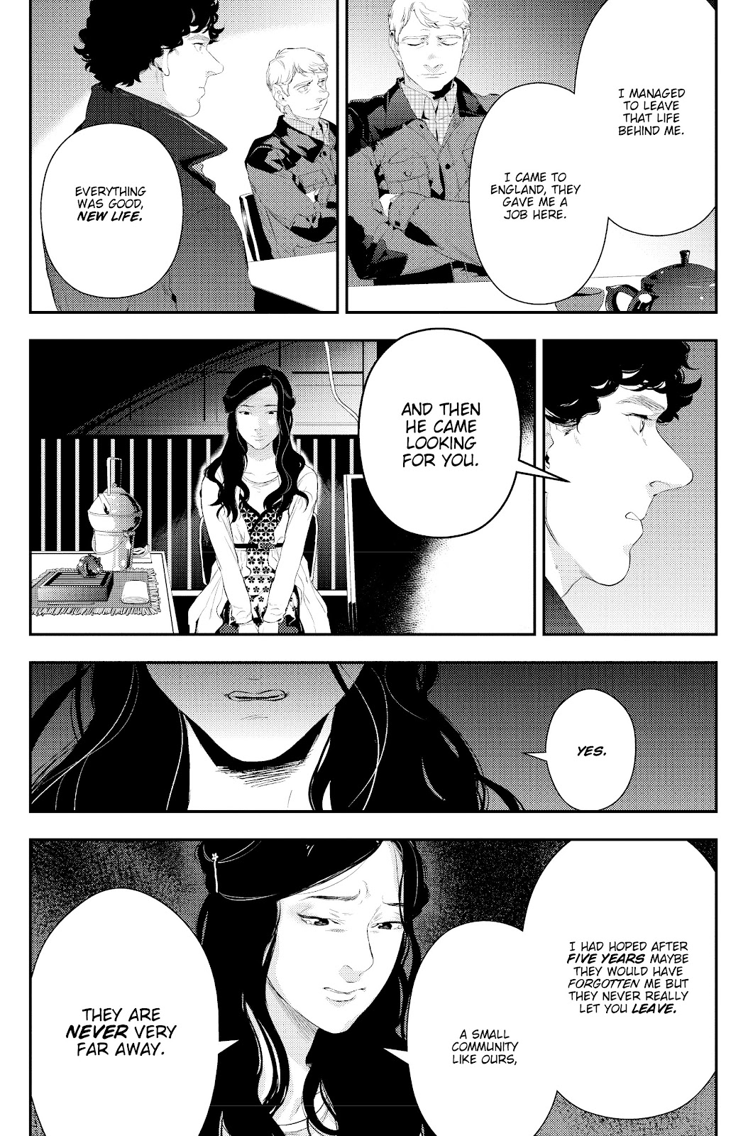 Sherlock: The Blind Banker Issue #4 #4 - English 21