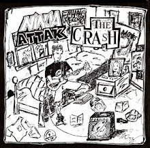 "Ninja Attak/The Crash split 7"" 1997"