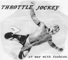 "Throttle Jockey - ""At War With Fashion"" 7"""