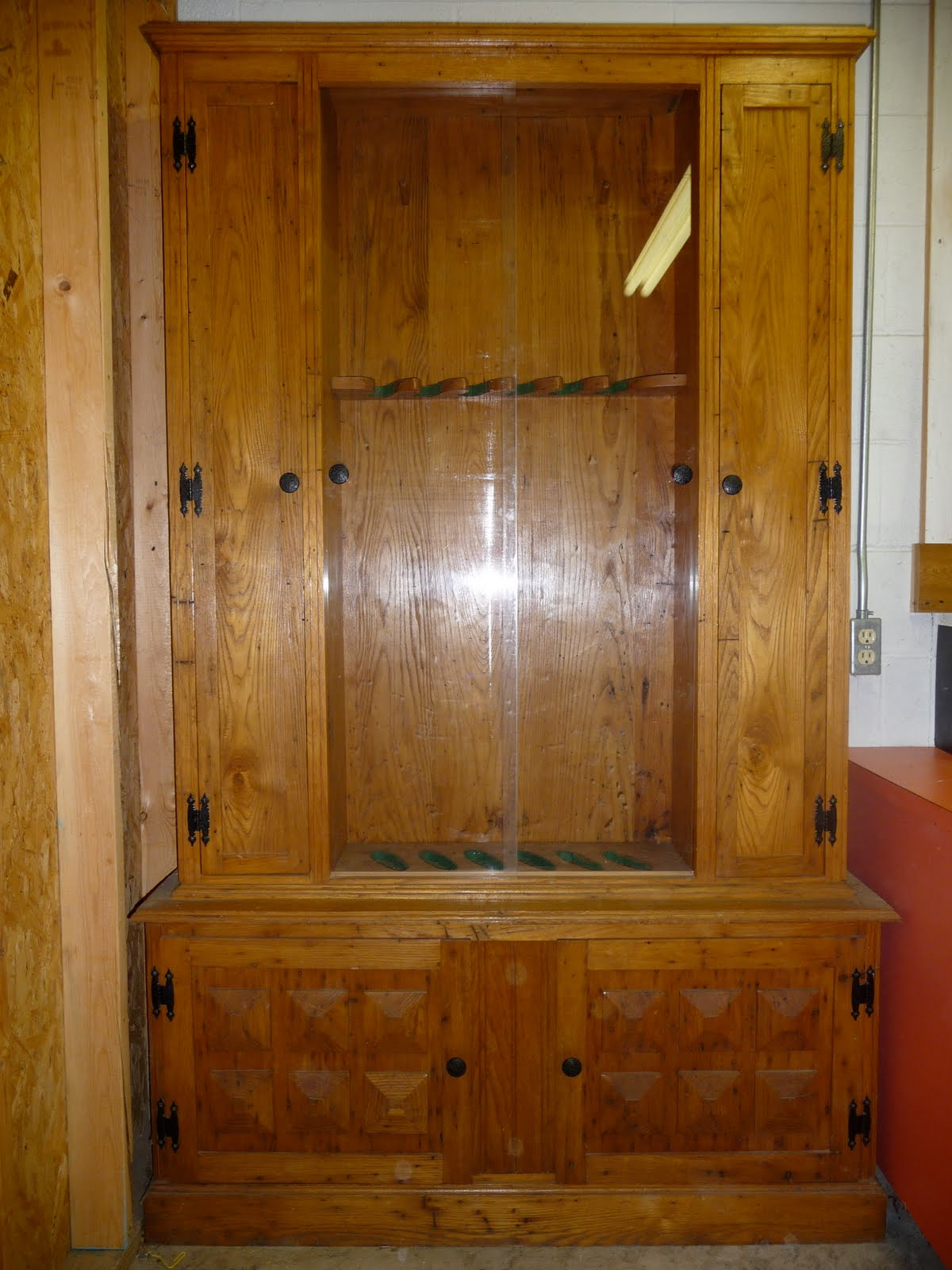 Wood Gun Cabinet Plans ~ Cath easy plans for wood gun cabinet us uk ca
