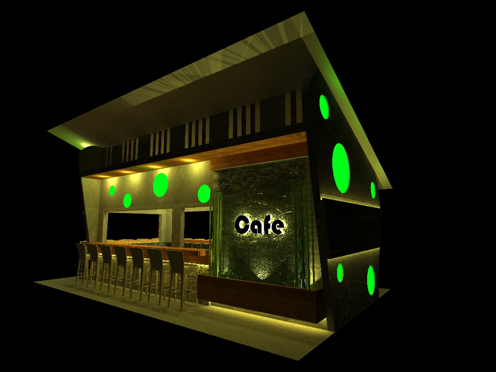 j. studio works: open cafe design