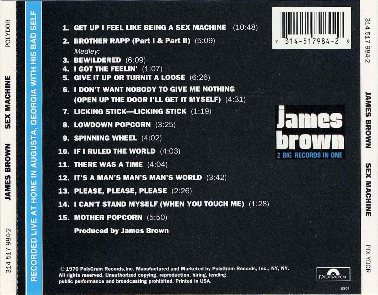 james brown sex machine mp3