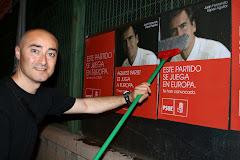 Europeas '09. Pegada carteles