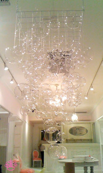 Bubble Chandelier DIY by Frou Frou Fashionista