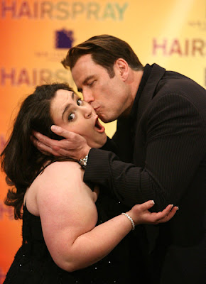 Nicole Blonsky and John Travolta photo