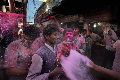 India - Holi Festival of Color - travel