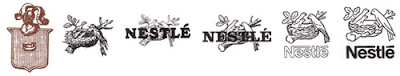 Nestle - Evolution of Logos & Brand