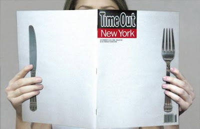 Time Out Magazine ads