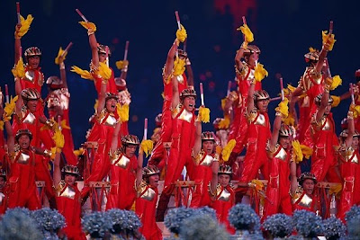 Olympics 2008 closing ceremony photos