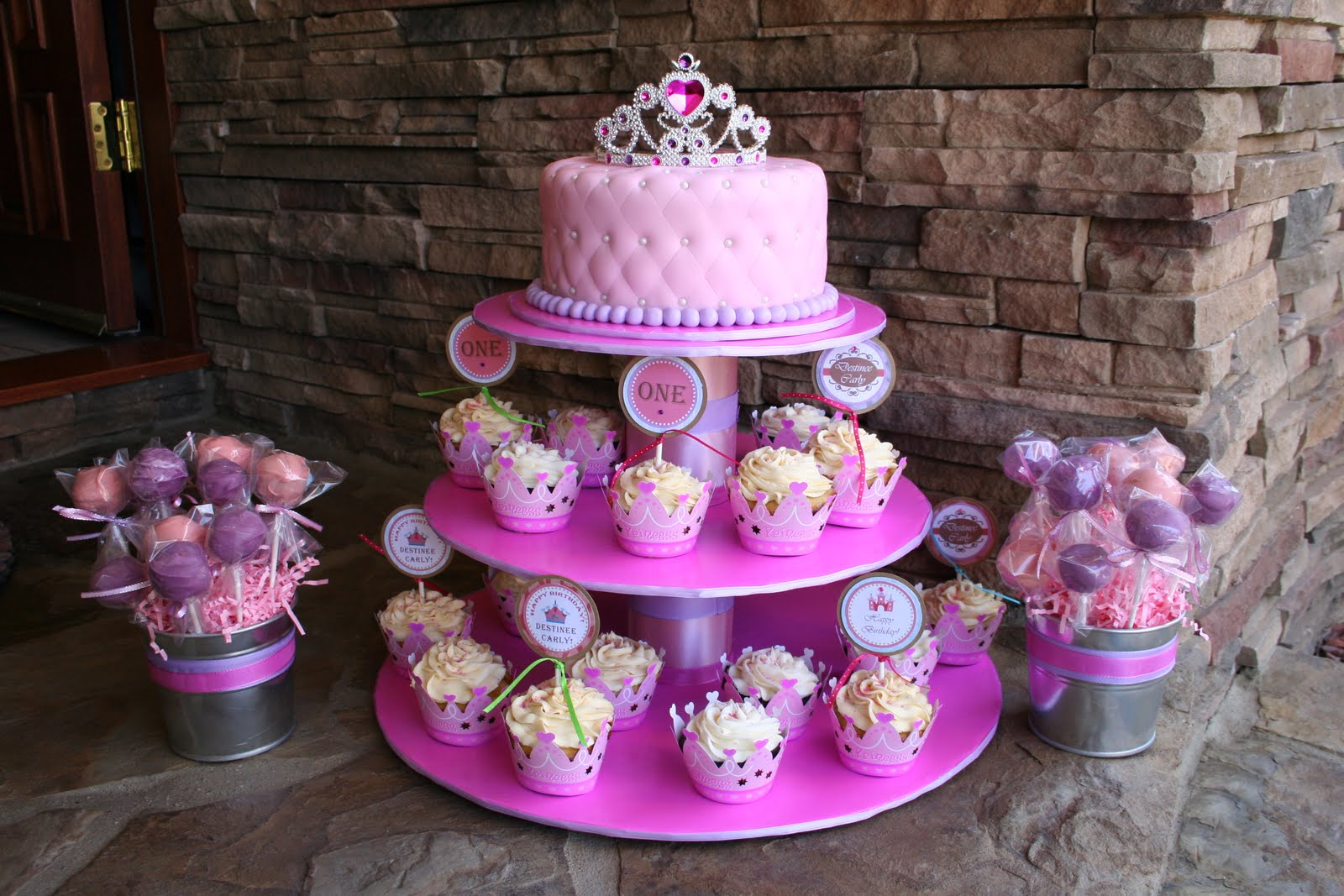 cakes by narleen kristel: a princess  1st birthday...