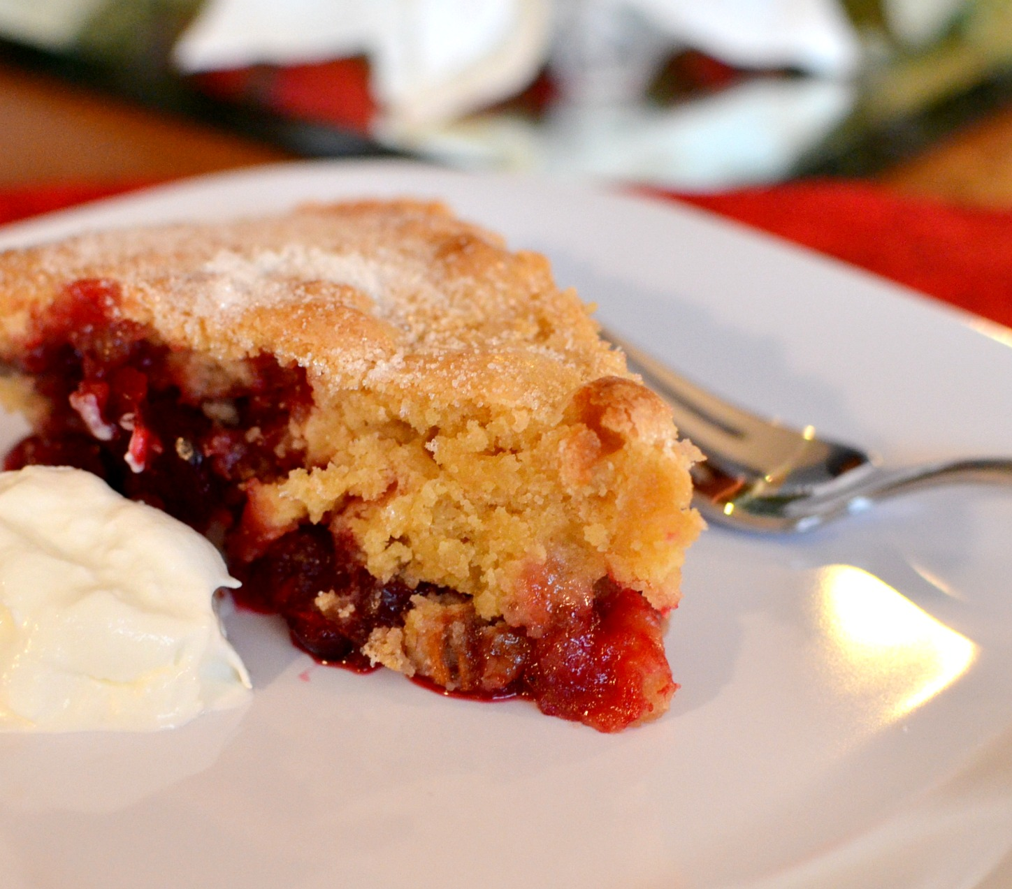 Family, Food, and Fun: Nantucket Cranberry Pie