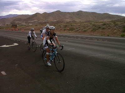 riding up US-93 from Lake Mead in to Boulder City
