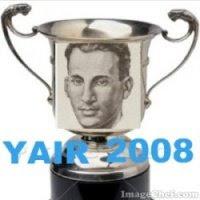 Prêmio YAIR 2008 - Concedido pelo Blog do Clausewitz