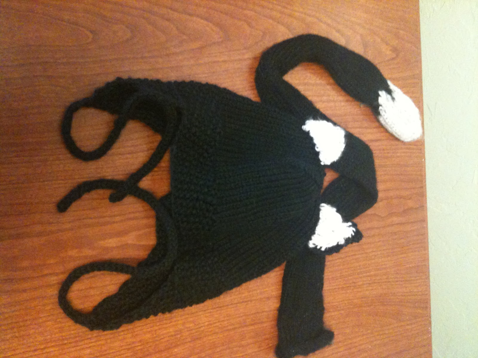 knitted thoughts: halloween cat costume: head to tail!