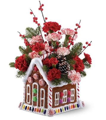 Mom S Turf Festive Christmas Flower Arrangements