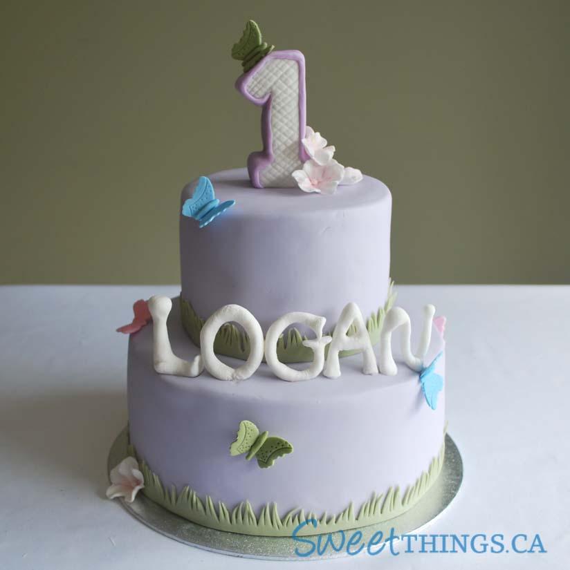 1st birthday cake cupcakes