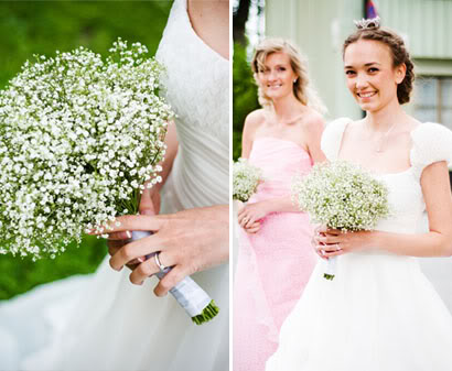 I 39m starting to like the idea of baby breath bouquets