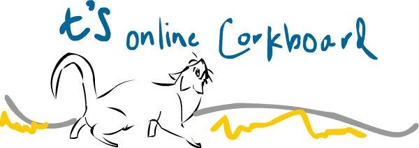 T's Online Corkbord