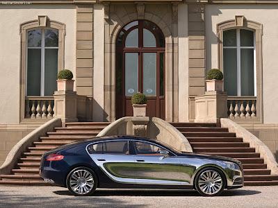 2009 Bugatti Galibier Concept. Bugatti Galibier
