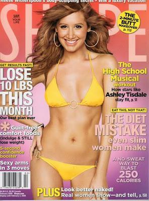 Ashley Tisdale Bikini Pictures For Shape Magazine