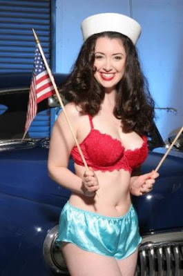 Gina Elise Is Hot Pin-Ups For Vets