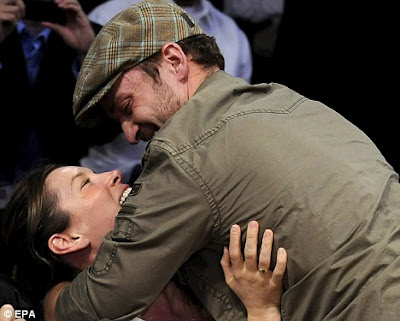 Justin Timberlake and Jessica Biel Engage in PDA