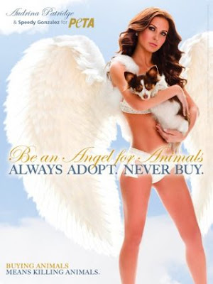 Audrina Patridge PETA Angel Ad