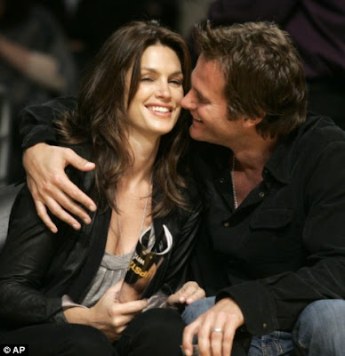 hot Cindy Crawford with Husband Rande Gerber