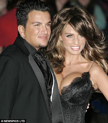 busty,hot Katie Price and Peter Andre
