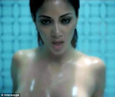 hot Nicole Scherzinger of Pussycat Dolls Nude in Hush Hush; Hush Hush video