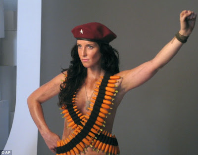 Che Guevara's Granddaughter Lydia Guevara Semi-naked Photoshoot For Peta