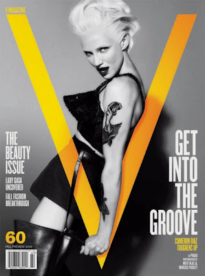 Cameron Diaz Sizzles On The Cover of V Magazine