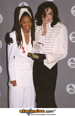 Michael Jackson with Janet Jackson