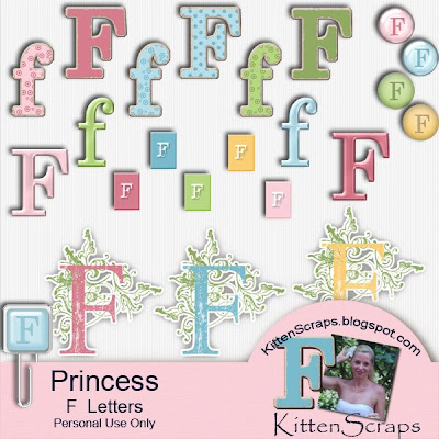 http://kittenscraps.blogspot.com/2009/10/princess-alpha-f-freebie.html