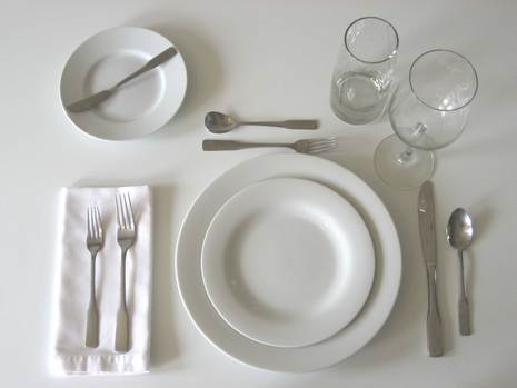 How To Set A Table Properly Beauteous Of Table Setting Dinner Plate Photos