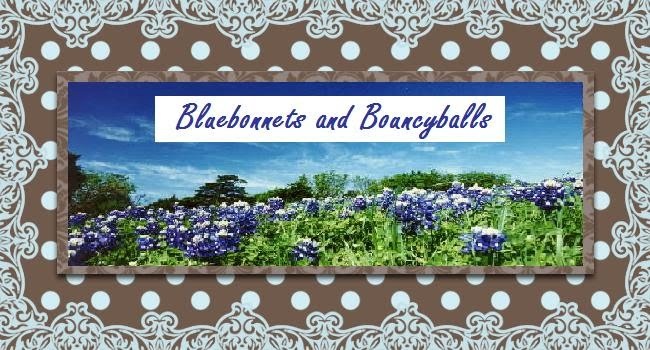 Bluebonnets and Bouncyballs