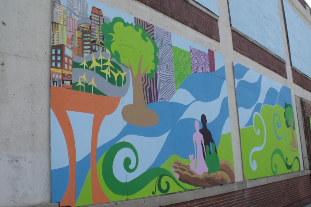 Positive detroit june 2010 for Detroit mural factory