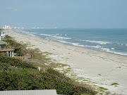 Looking north towards the Cocoa Beach city limits.