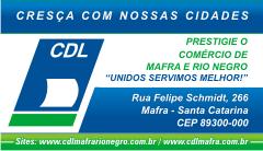 Site CDL Mafra/Rio Negro