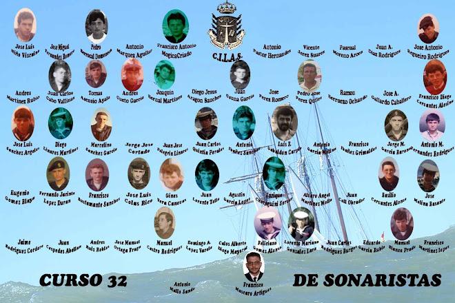 ORLA DEL CURSO 32 DE SONARISTAS