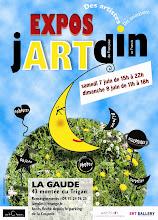"""Exposicion """"jARTdin"""" en la Gaude, sur de Francia."""