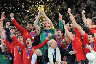 España, Campeona del Mundial de futbol 2010