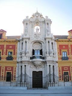 Palacio de San Telmo - Sevilla (Portada principal)