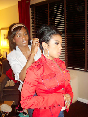 artist Keyshia Cole and
