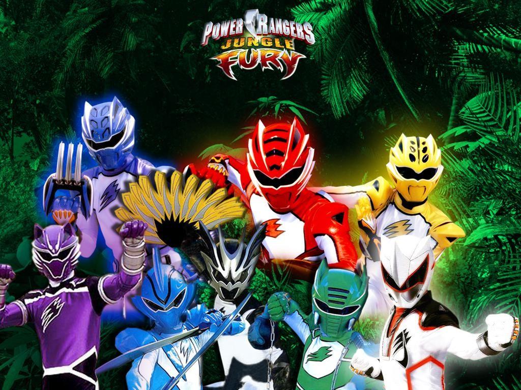 Power Rangers Jungle Fury Games