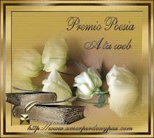 """Premio """"Poesía"""""""