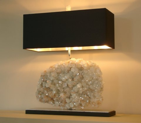 Left coast luxe april 2010 for Rock lamp