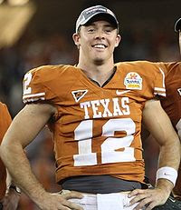 Rachel Glandorf is Colt McCoy's Girlfriend